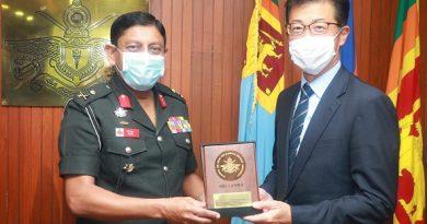 Deputy head of Japanese mission in Colombo visits KDU
