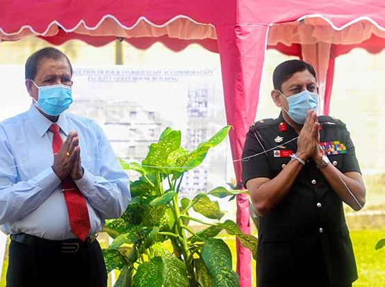 Foundation Stone Laying Ceremony, For Administrative Building of KDU Guest at The University Hospital