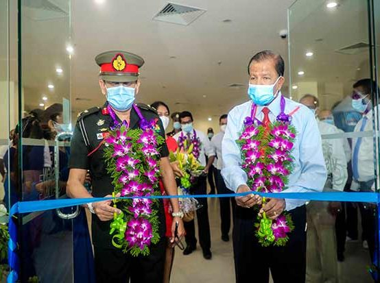 The Inauguration Ceremony of Vision Care Opticals Pvt Ltd. At The University Hospital