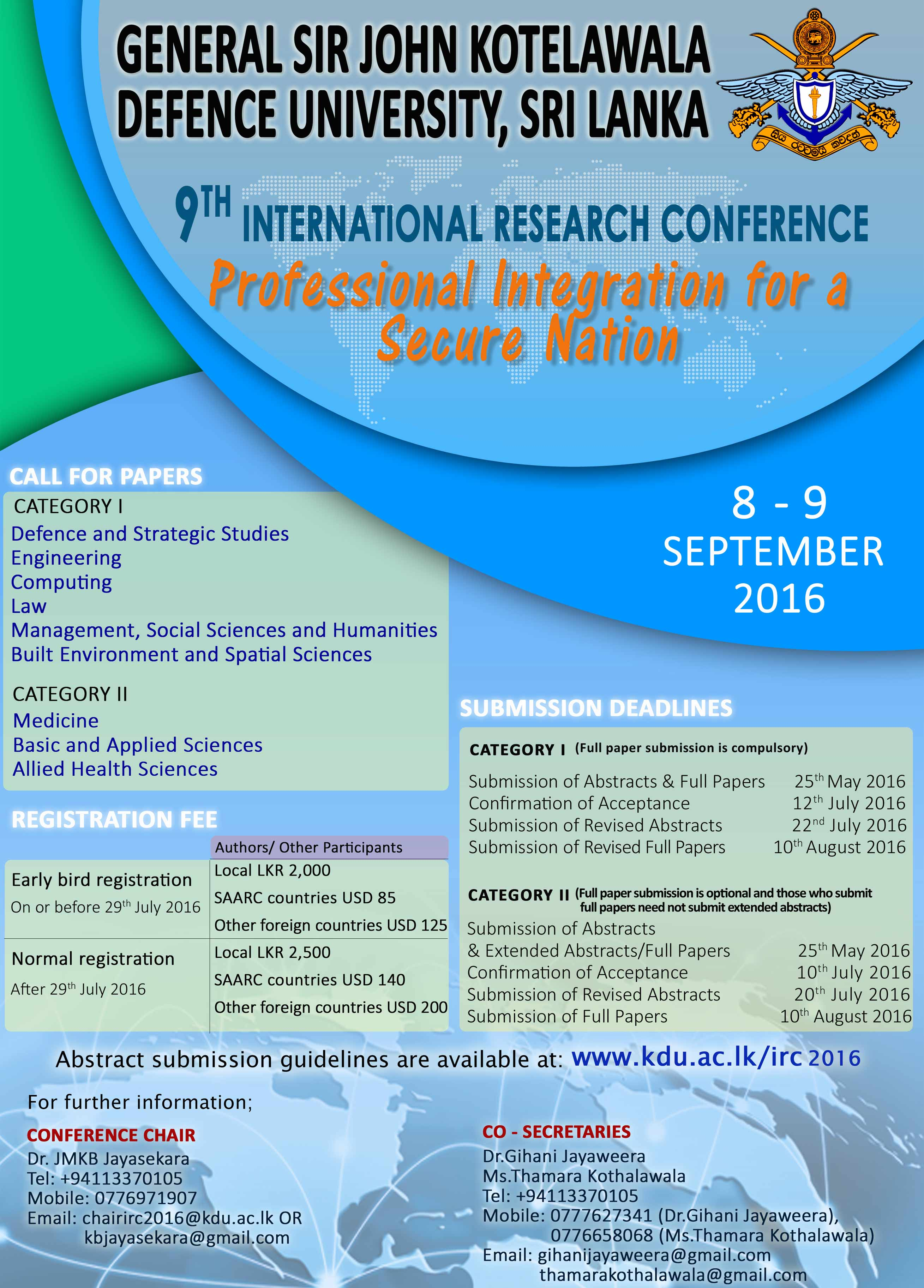 International Research Conference