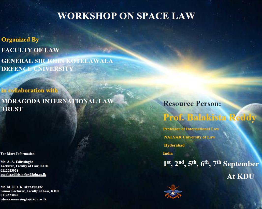 Workshop on Space Law
