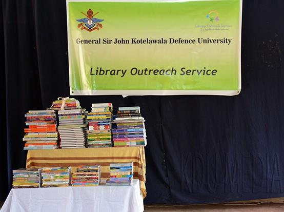 Annual Outreach Service- The Library Network of General Sir John Kotelawala Defence University (KDU)