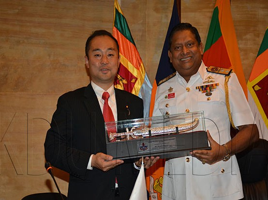 Visit of Japanese Parliamentary Vice Minister of Defence to KDU