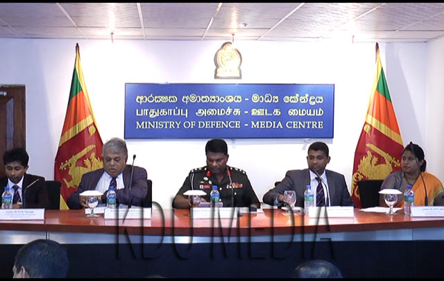 Media Briefing on KDU International Research Conference – 2017