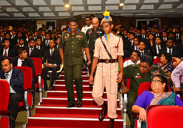 Enlistment of Officer Cadets of Intake 35