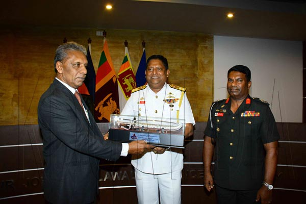 Visit of the Secretary Defence to KDU