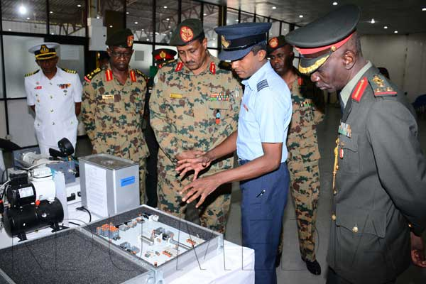 Visit of Director General of Joint Training, Sudan Armed Forces and Delegation to KDU