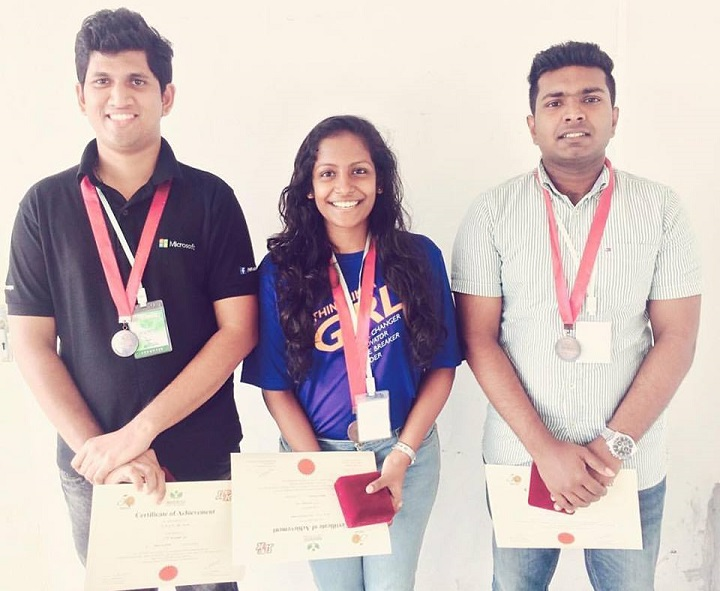 INVENTIO Competition Organized by University of Kelaniya Parallel to the VIDYA 2017 Exhibition