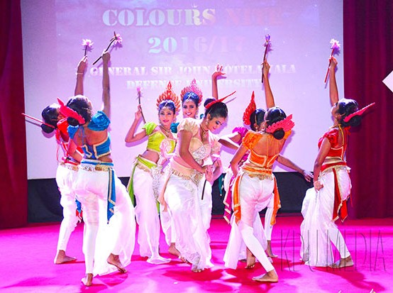 General Sir John Kotelawala Defence University Colours Night – 2017