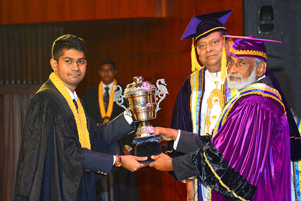 General Convocation of General Sir John Kotelawala Defence University – 2017