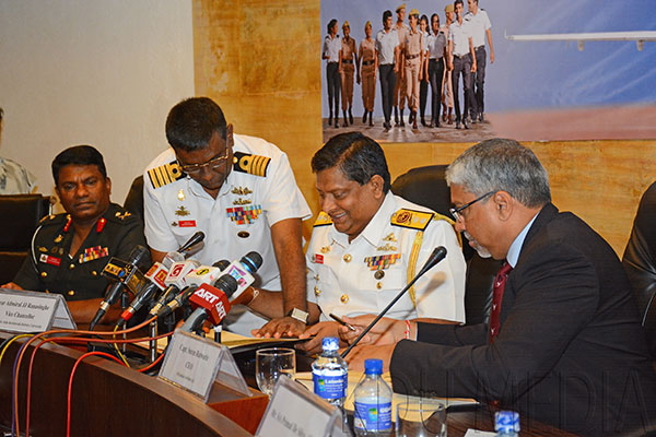 Media Briefing and Signing of MOU for The Bachelor of Science in Aircraft Maintenance Degree