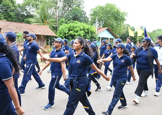 Southern Campus Marches in Sooriyawewa