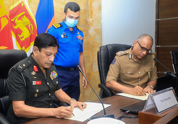 Enlisting officers of Sri Lanka Police to follow MBBS Degree Programme of the Faculty of Medicine, KDU