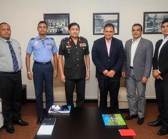 Discussion on The Collaboration Between General Sir John Kotelawala Defence University (KDU) and Sri Lankan Airlines