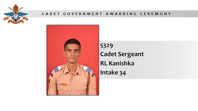 Appointment of Cadet Government- 2020
