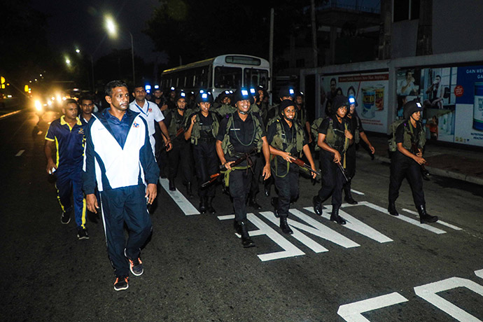 Officer Cadets' Endurance  March – 2020