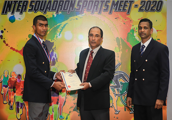 Prize Giving Ceremony of the Annual Sports Meet – 2020