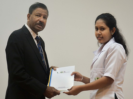 Awarding of Appointment Letters to the Paramedical Staff, Nursing Officers, Minor Staff of the General Sir John Kotelawala Defence University Hospital Werahera