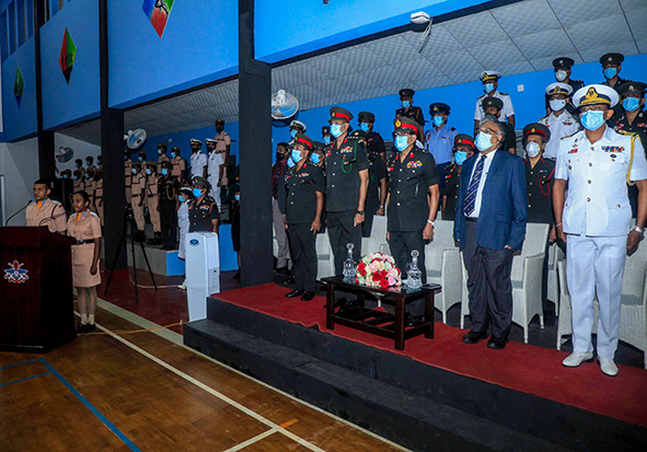 The Pipping Ceremony of  MBBS Officer Cadets of Intake 32