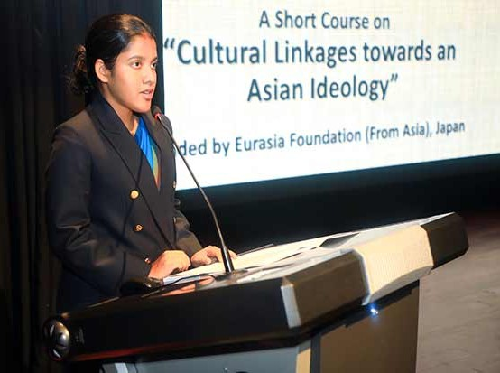 """Inauguration of the Short Course on """"Cultural Linkages towards an Asian Ideology"""""""