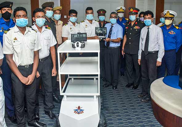 Handing over two Medical Assistant Robots to UHKDU