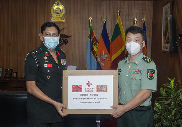 Defence Attaché of the Embassy of the People's Republic of China paid a visit to KDU