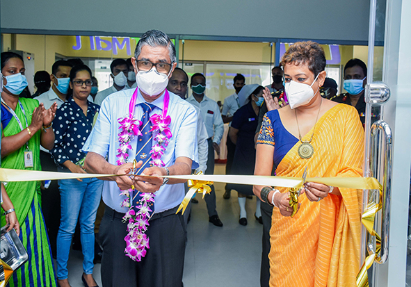 The Launch of New Laugfs Supermarket at the University Hospital, Kotelawala Defence University- Werahara