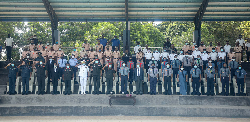 Formation Of The First National Rover Crew Of The Sri Lanka Scout Association At KDU To Commemorate The Centenary Year Of Rover Scouting In Sri Lanka