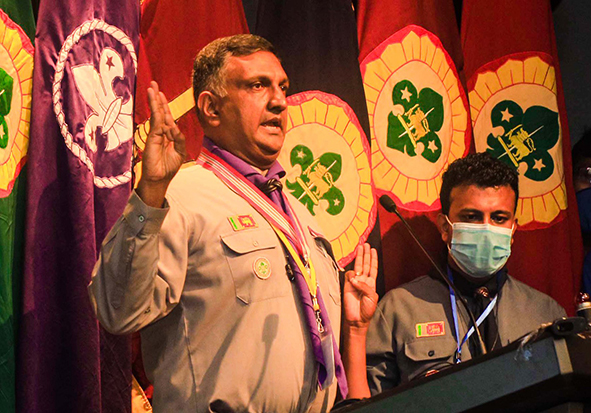 The District Commissioners' Conference of Sri Lanka Scout Association