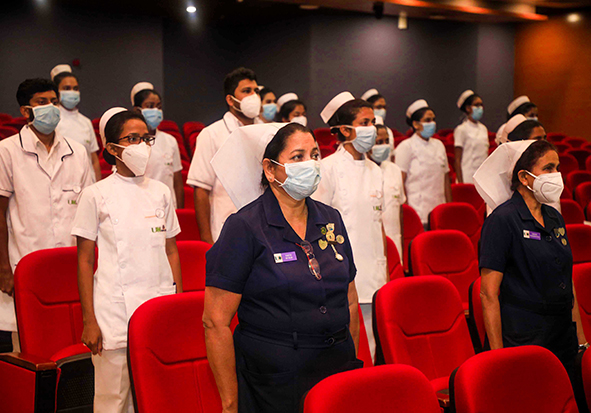 Awarding of Appointment Letters to the Paramedic Officers, Nursing Officers and Management Assistants of the University Hospital, KDU