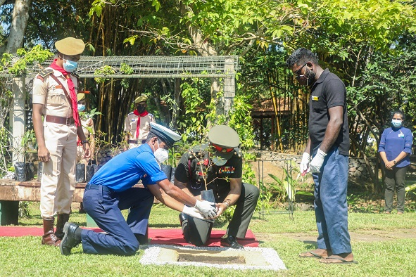 Tree Planting Programme of KDU Rover Scouts
