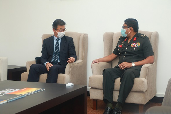 Visit of Deputy Head of Mission – Embassy of Japan in Sri Lanka to KDU on 17th March 2021