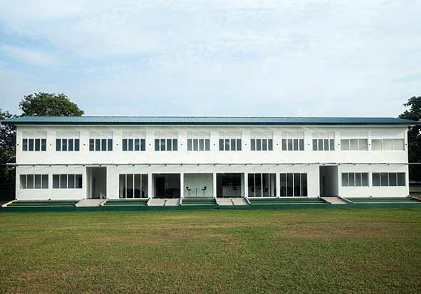 Opening of the Sports Pavilion Complex and Other Rankers' Accommodation Building