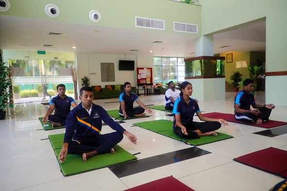 """Online """"Yoga for Covid Protocol"""" Session in Celebration of the International Day of Yoga"""