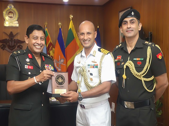 Indian Defence Advisor Meets the Vice Chancellor of KDU