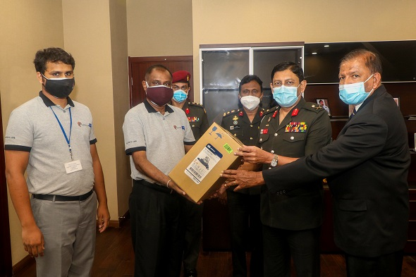 The Donation of the High Flow Nasal Oxygen Therapy Machine to the University Hospital, Kotelawala Defence University
